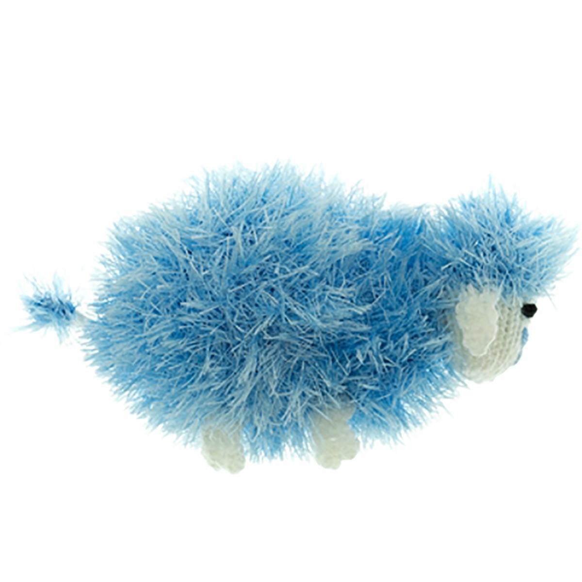 OoMaLoo Handmade Sheep Dog Toy - Blue