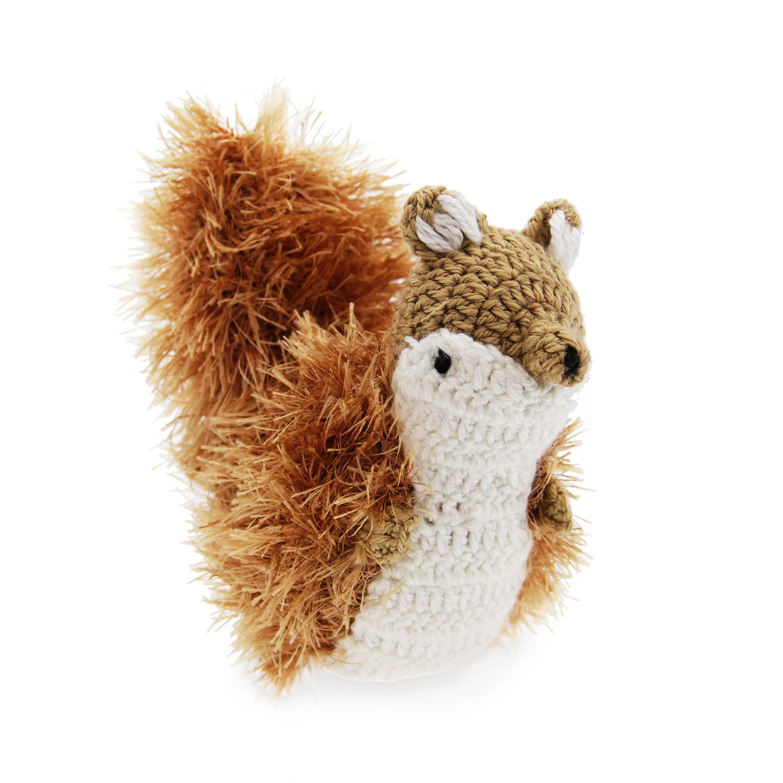 American Wildlife Squirrel Dog Toy