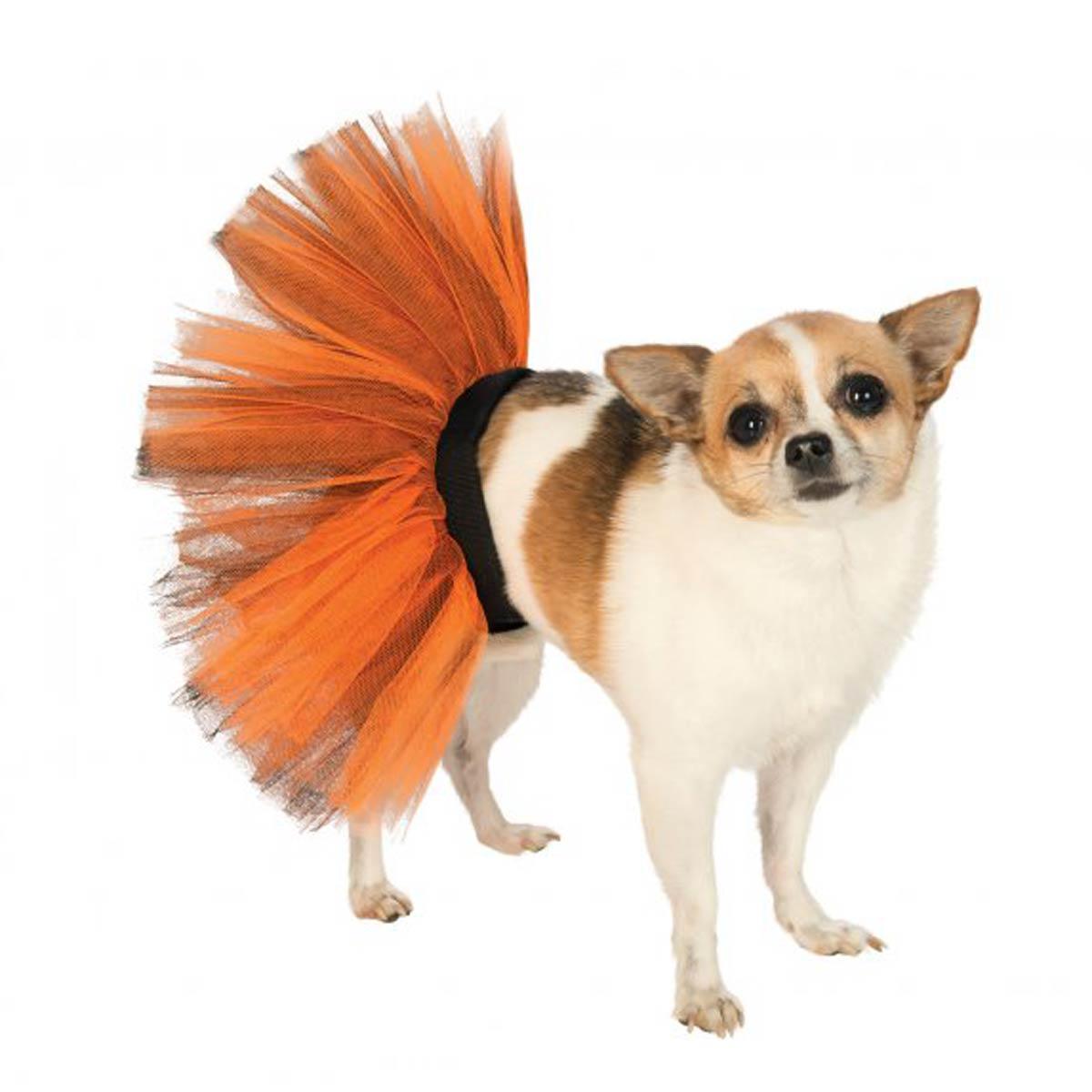 Orange and Black Dog Tutu