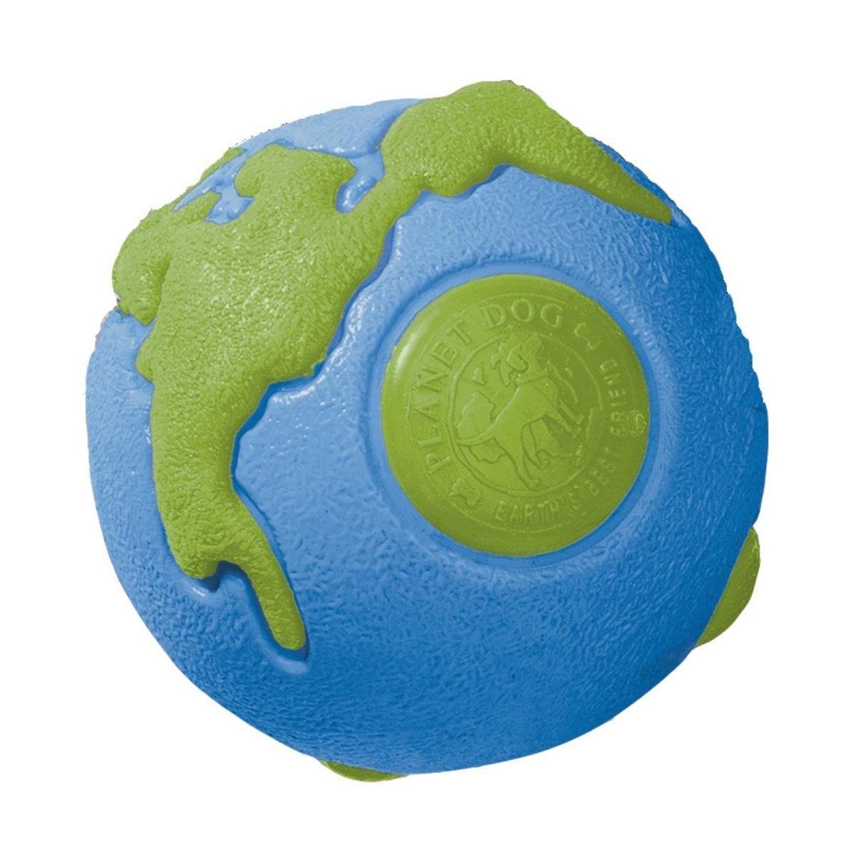Planet Dog Orbee-Tuff Orbee Ball Dog Toy - Blue and Green