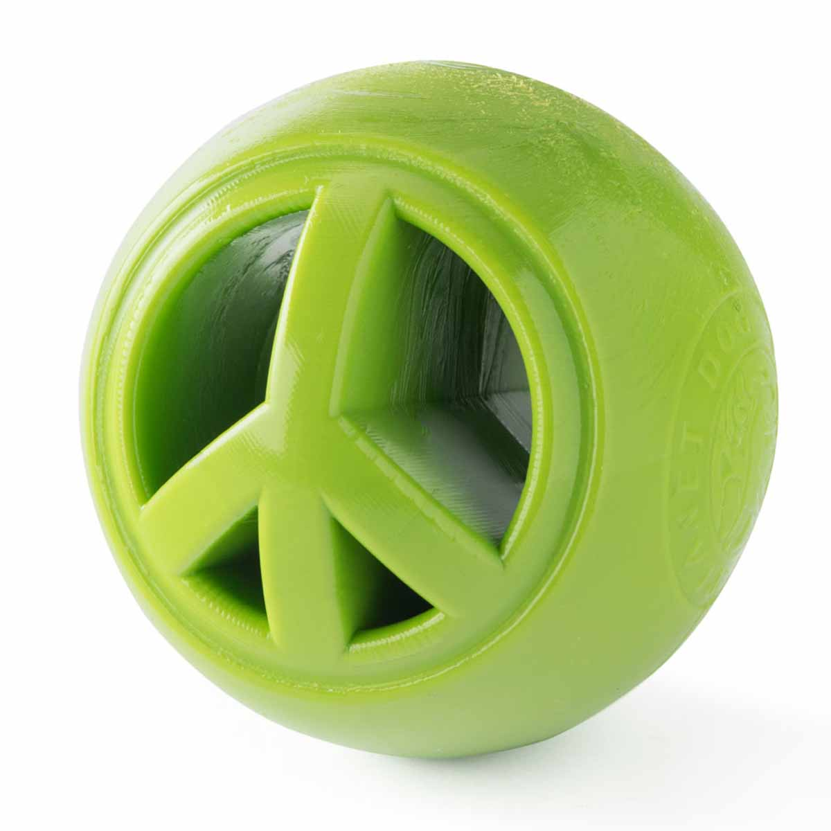 Planet Dog Orbee-Tuff Nooks Ball Dog Toy by Planet Dog - Peace