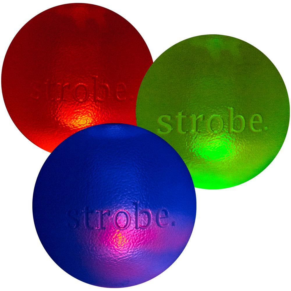 Planet Dog Orbee-Tuff Strobe Ball Dog Toy