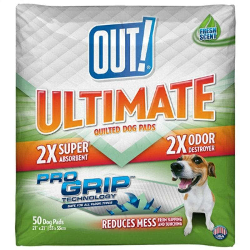 OUT! Ultimate Quilted Pro Grip Dog Training Pads