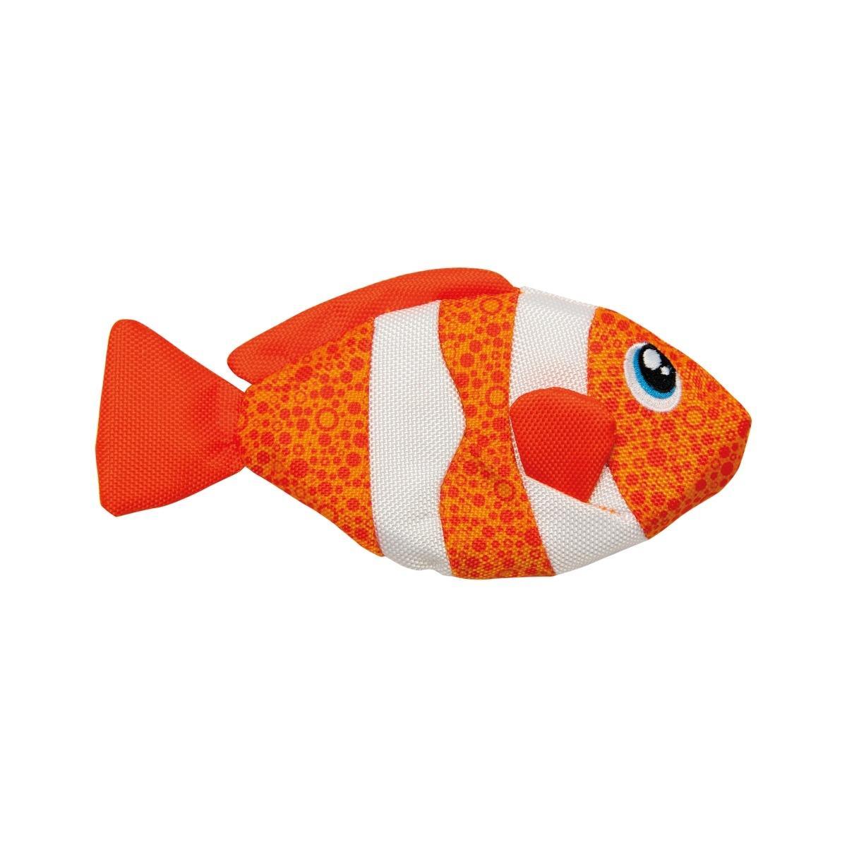 Outward Hound Floatiez Dog Toy - Clown Fish