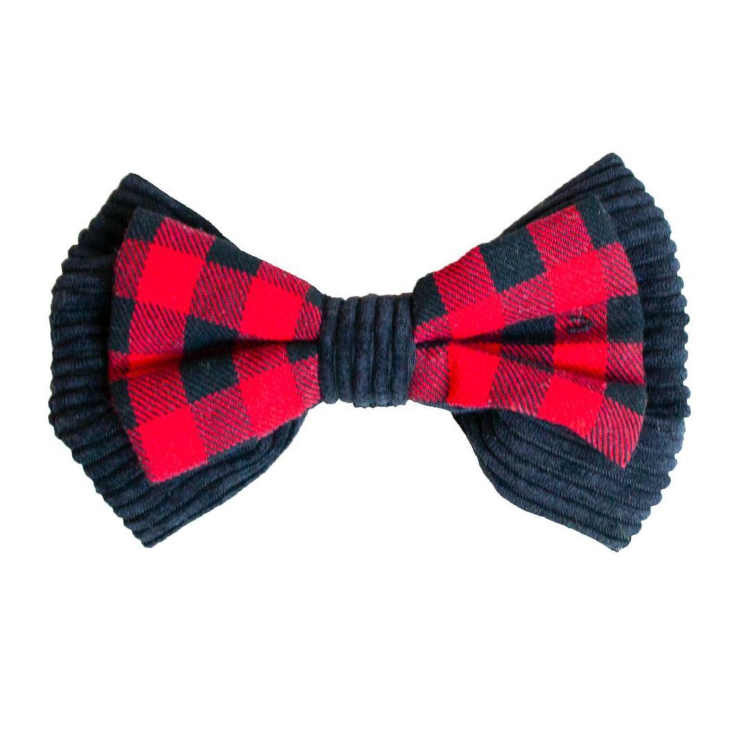 Outward Hound Holiday Bow Tie Dog Collar Slide