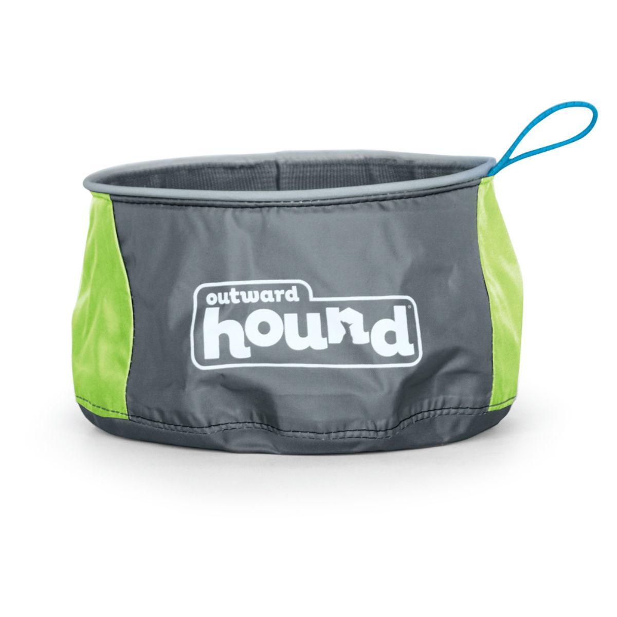 Outward Hound Port A Bowl - Green