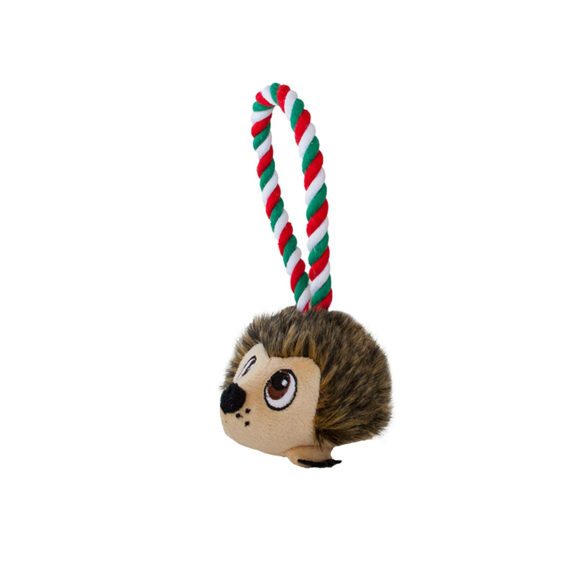 Outward Hound Rope Tuggiez - Holiday Hedgie