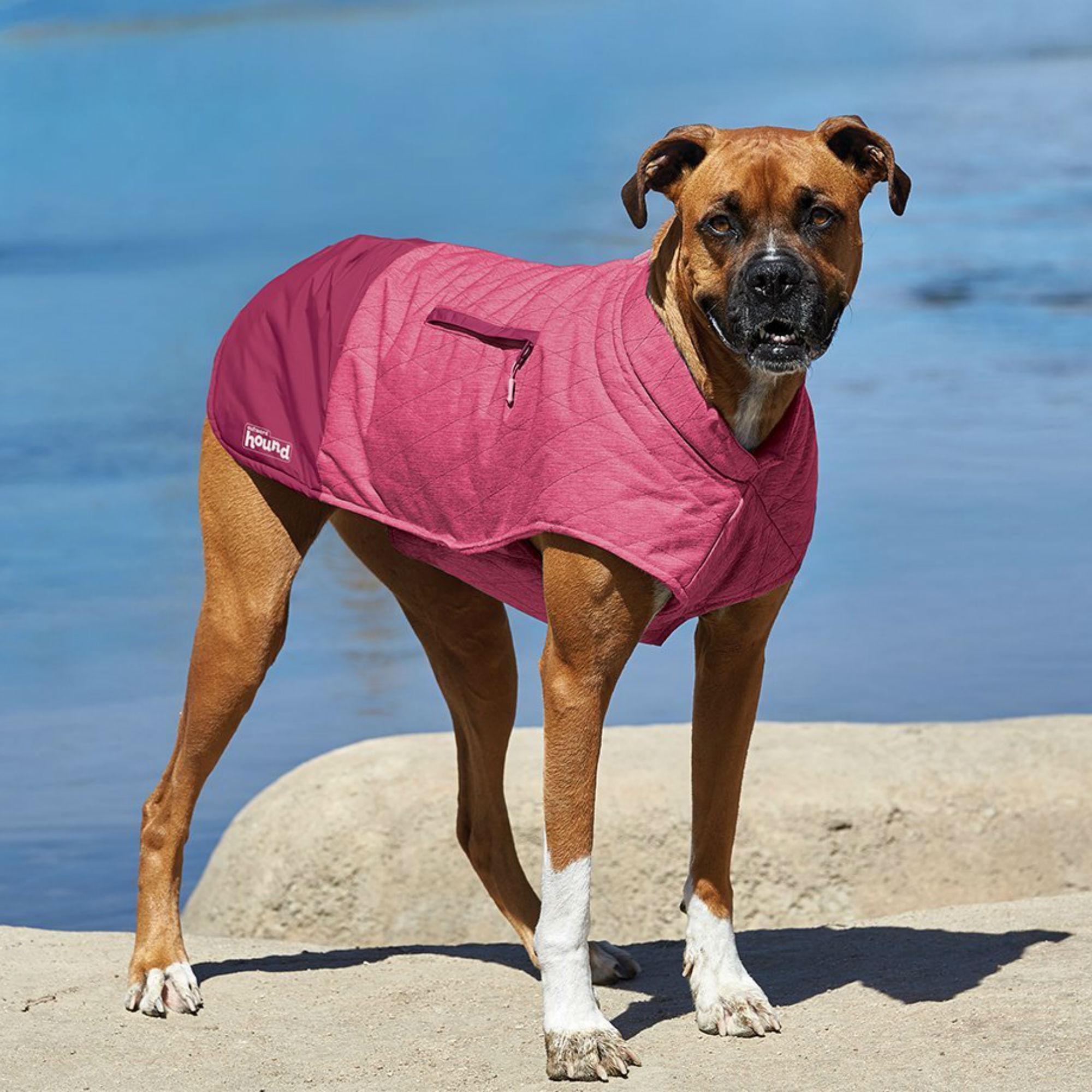 Outward Hound Silverton Dog Coat - Pink