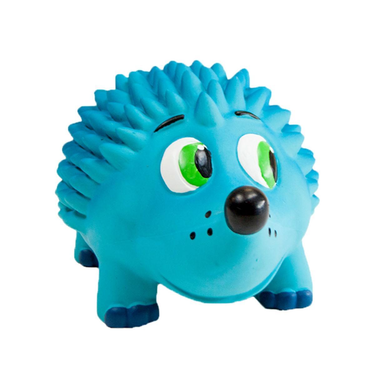 Outward Hound Tootiez Grunting Squeak Dog Toy - Hedgehog