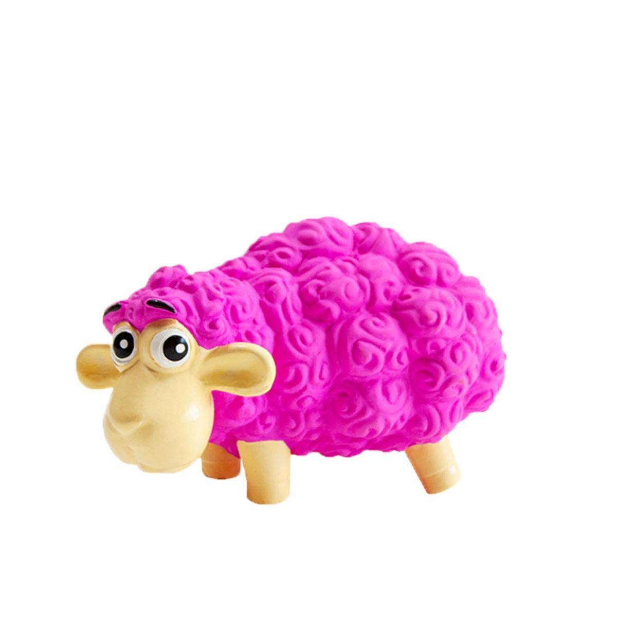 Outward Hound Tootiez Grunting Squeak Dog Toy - Sheep