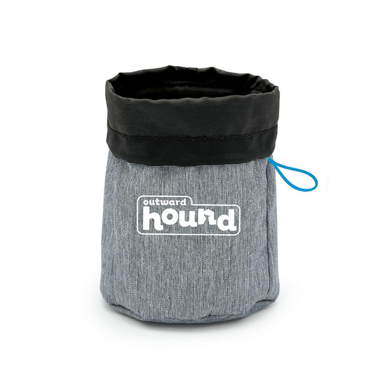 Outward Hound Treat Tote Bag - Gray and Black