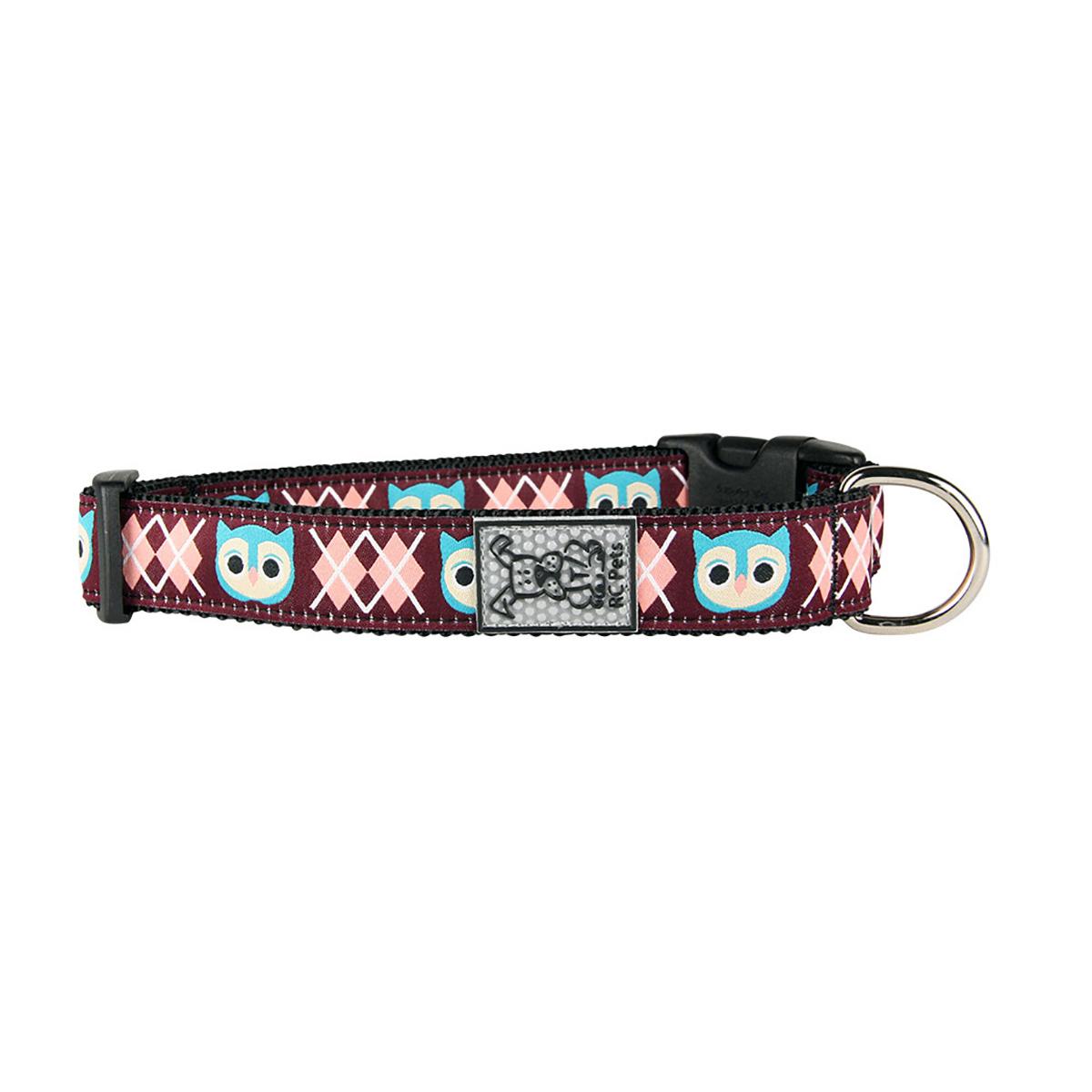 Owl Adjustable Dog Collar by RC Pet