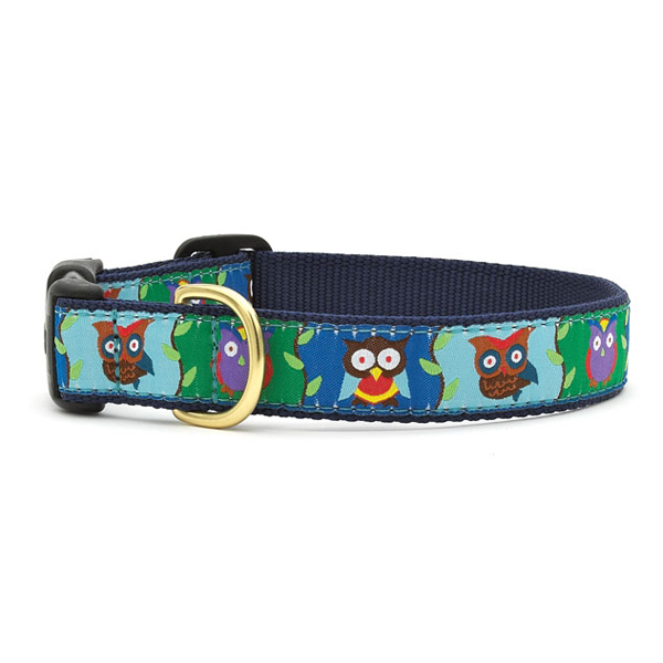 Owl Dog Collar by Up Country