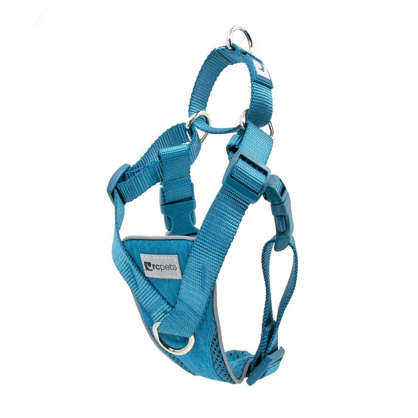 Tempo No Pull Dog Harness by RC Pet - Heather Teal