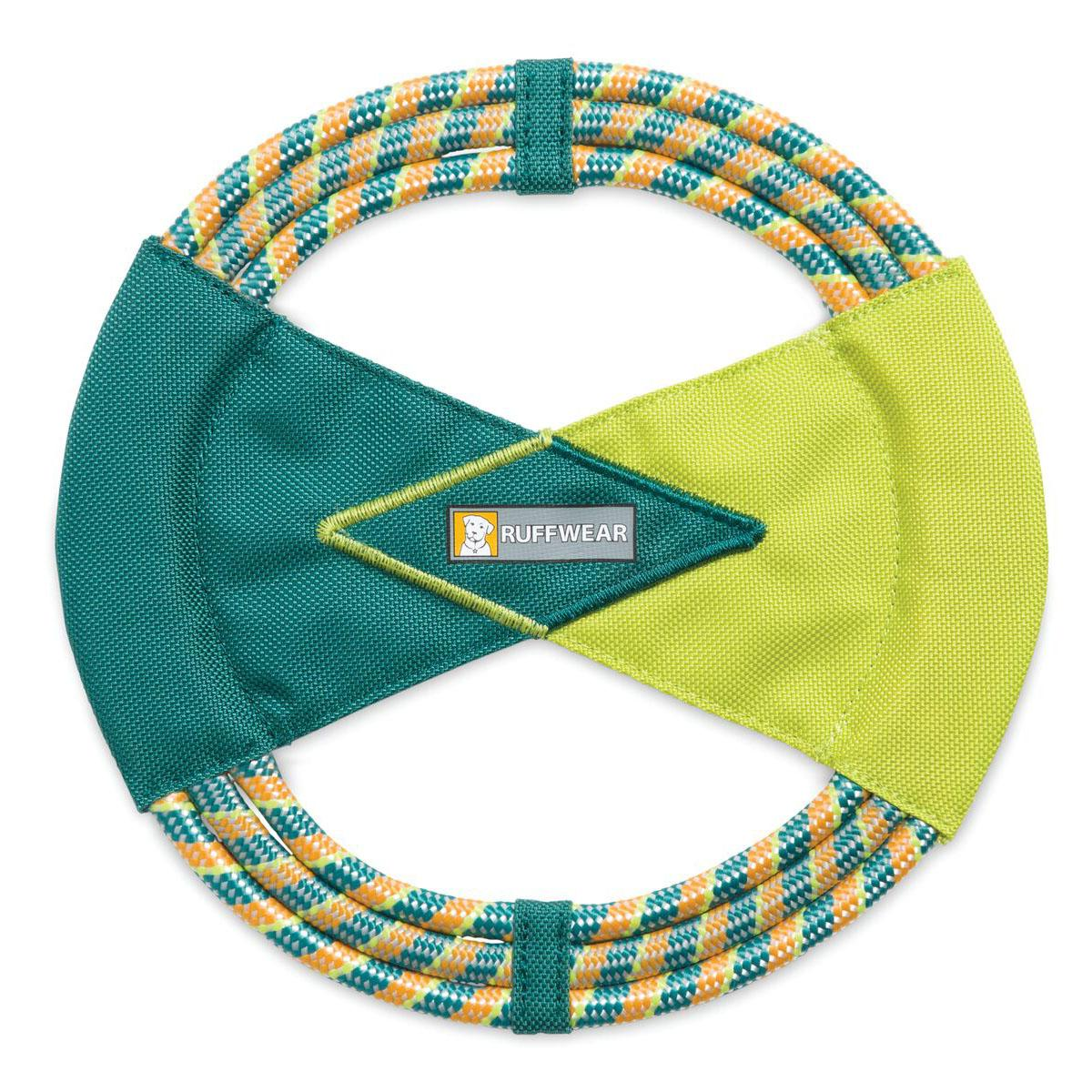 Pacific Ring Dog Toy by RuffWear - Tumalo Teal