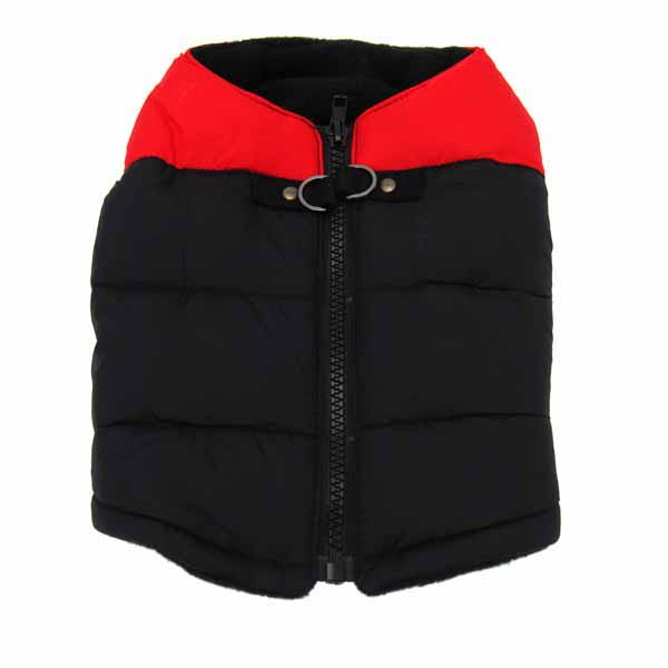 Padded Dog Harness Vest by Gooby - Red/Black