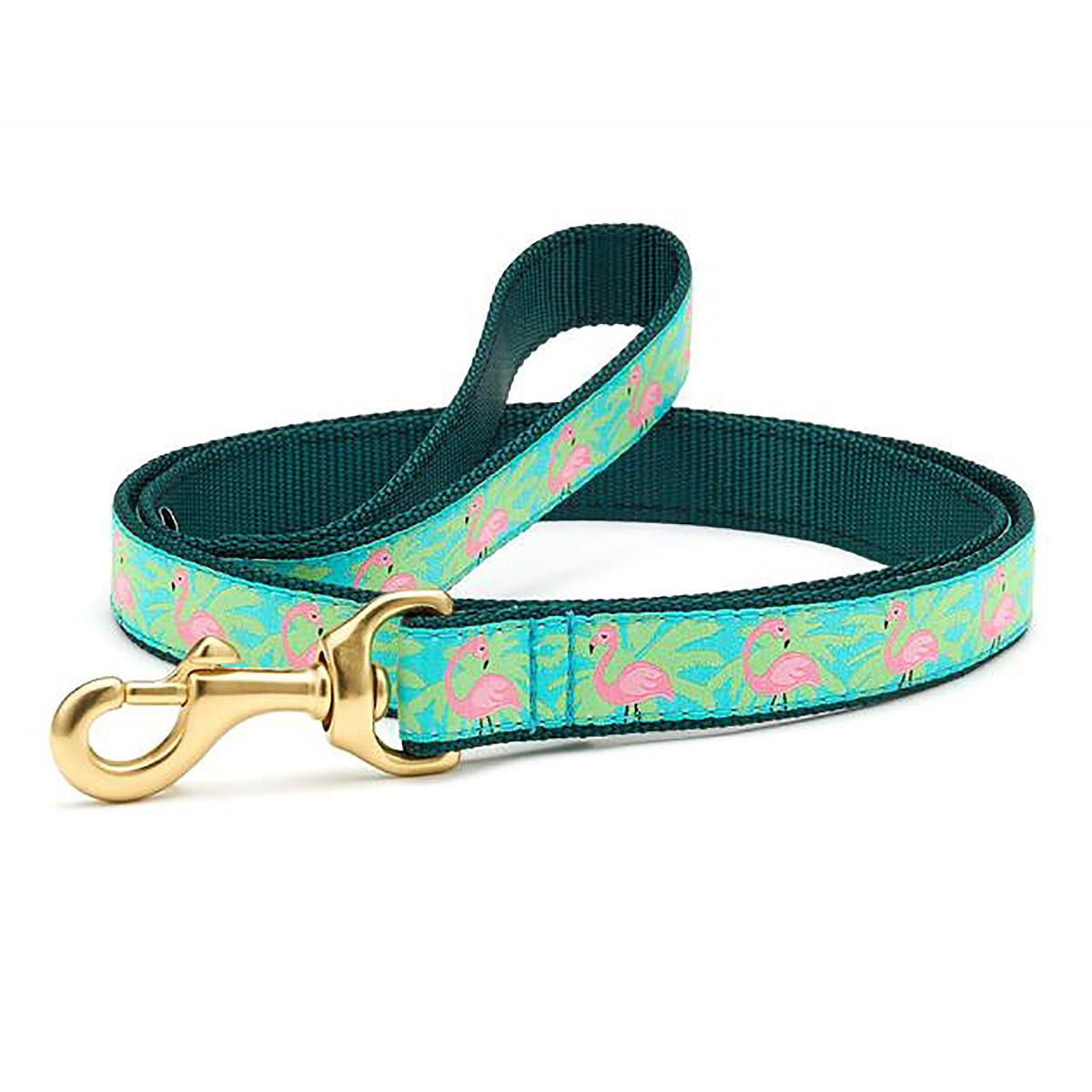 Flamingo Dog Leash by Up Country