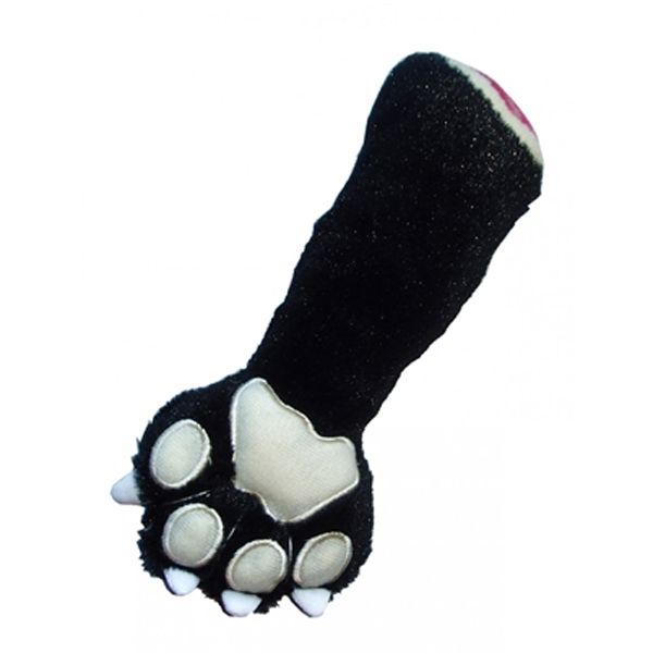 Panther Claw Plush Dog Toy by Hip Doggie