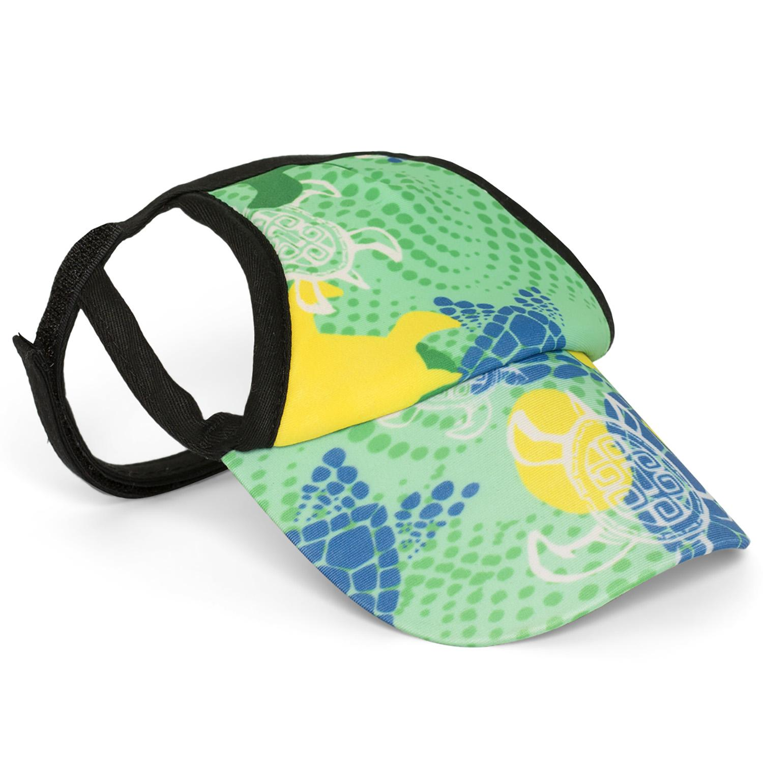 Paradise Green Tuga Dog Visor by Playa Pup