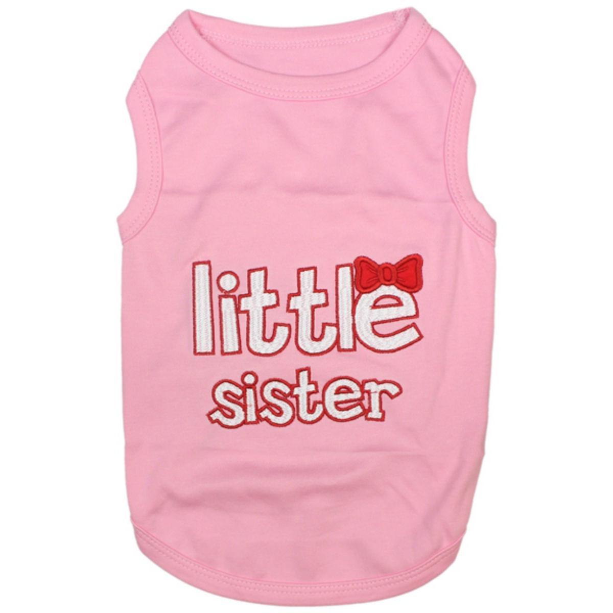 Parisian Pet Little Sister Dog Shirt - Pink