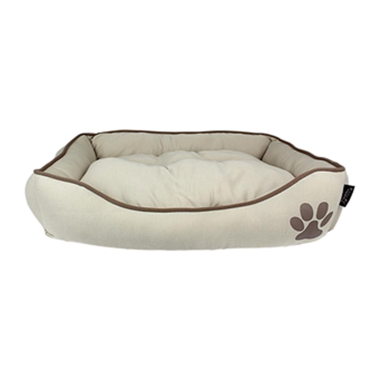Parisian Pet Earth Dog Bed - Khaki