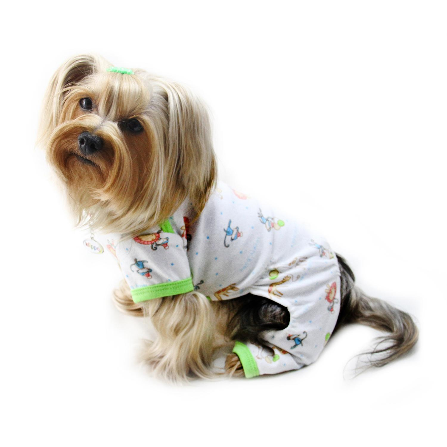 Party Animals Knit Cotton Dog Pajamas By Klippo