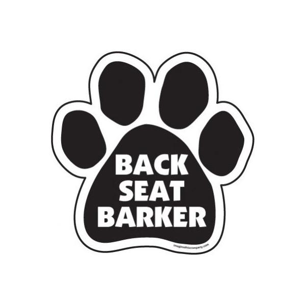 Paw Magnet - Back Seat Barker