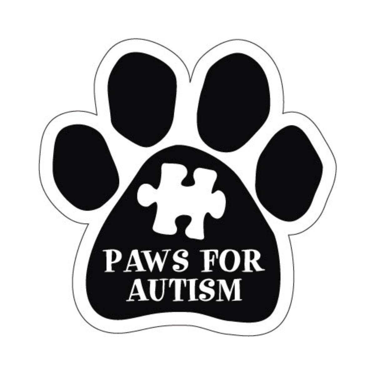 Paw Magnet - Paws for Autism