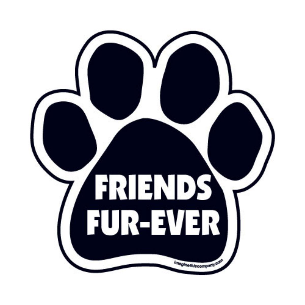 Paw Magnet - Friends Fur-Ever