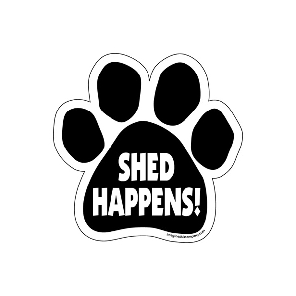 Paw Magnet - Shed Happens