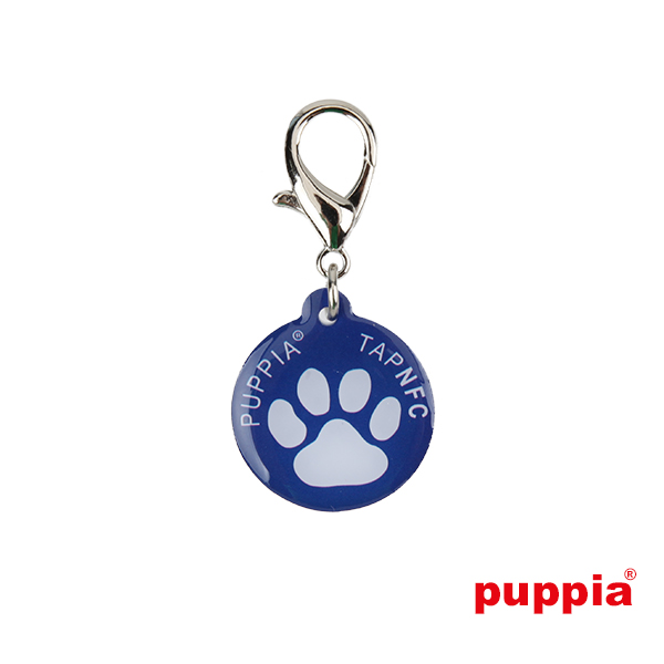 Paw Smart Tag Pet ID by Puppia - Royal Blue