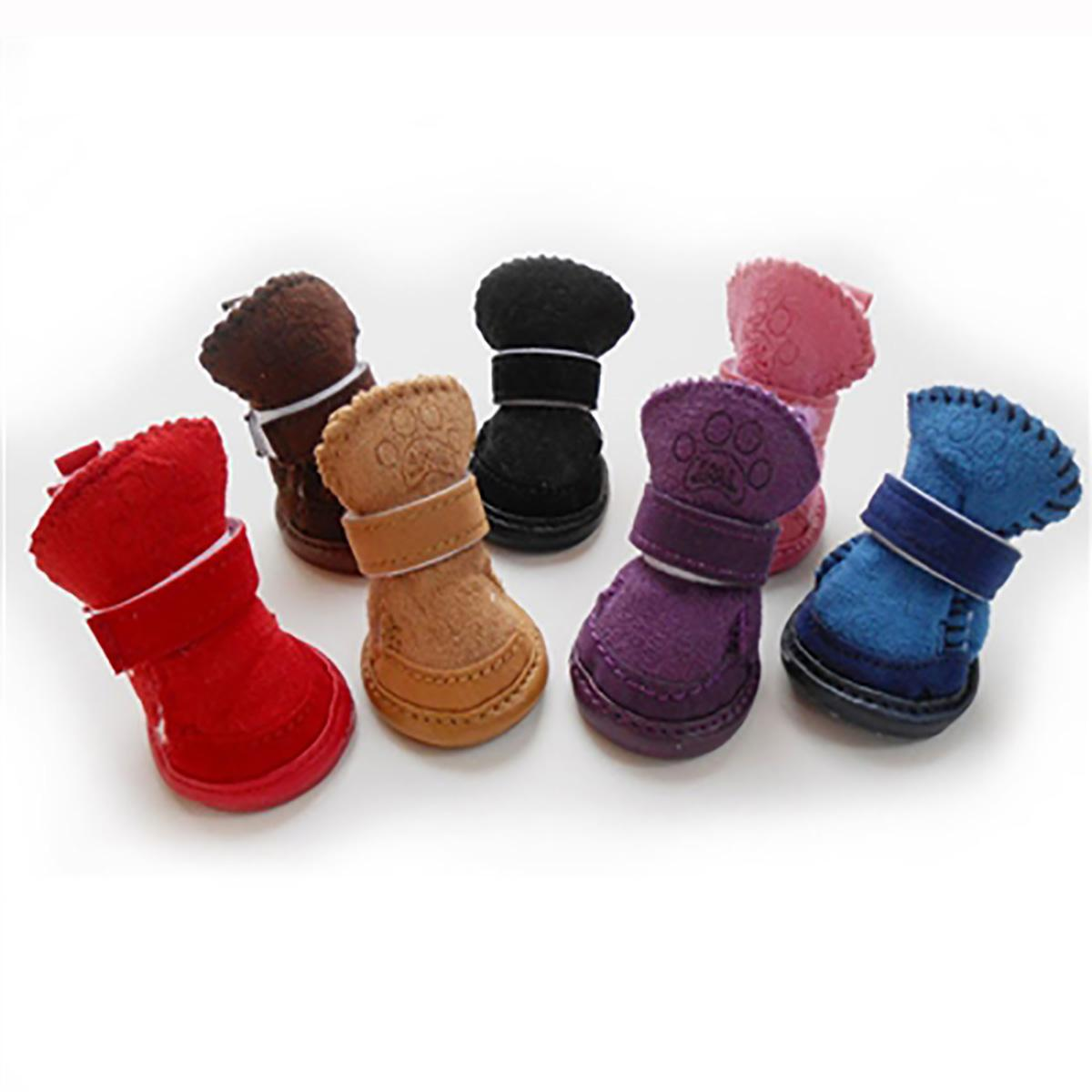 Pawgglys Dog Boots - Purple