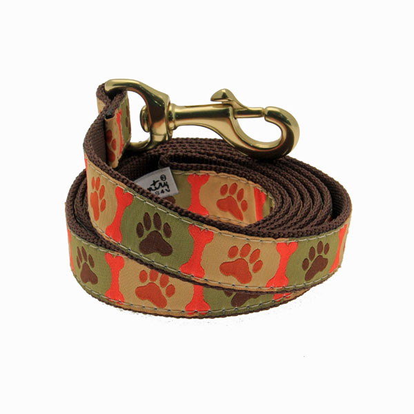 Pawprints Dog Leash by Up Country