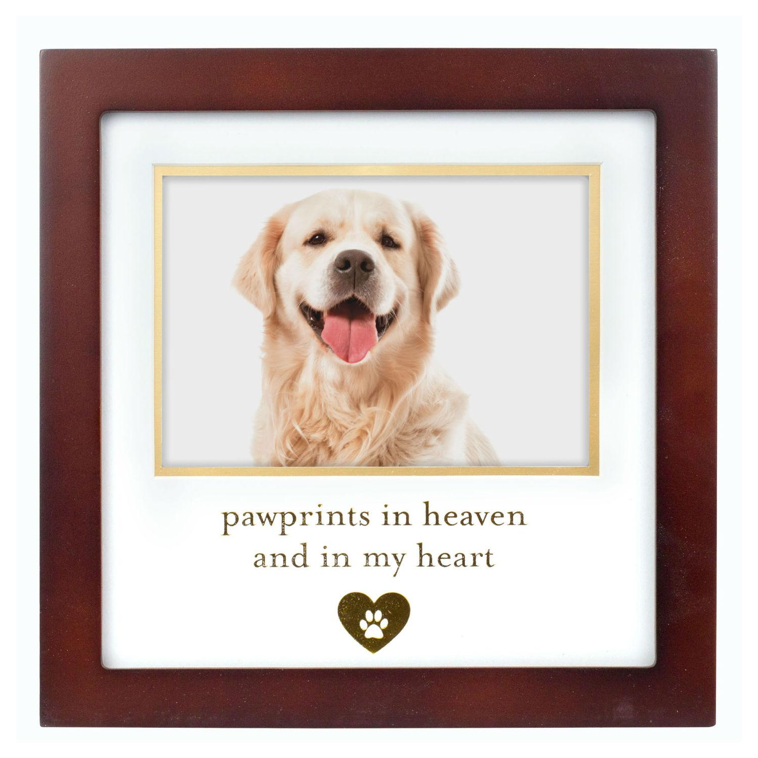 Pawprints in Heaven Pet Memory Frame by Pearhead