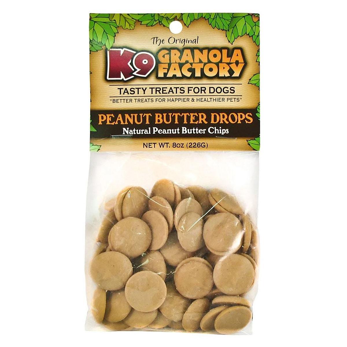 K9 Granola Factory Peanut Butter Drops Dog Treat