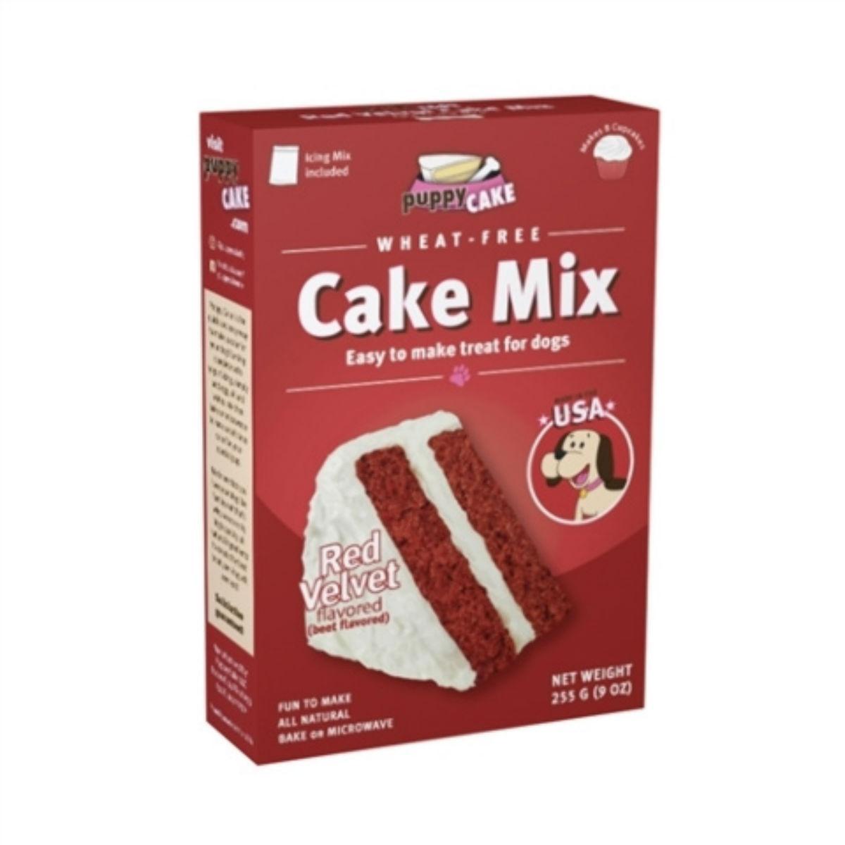 Red Velvet Puppy Cake Mix Dog Treat