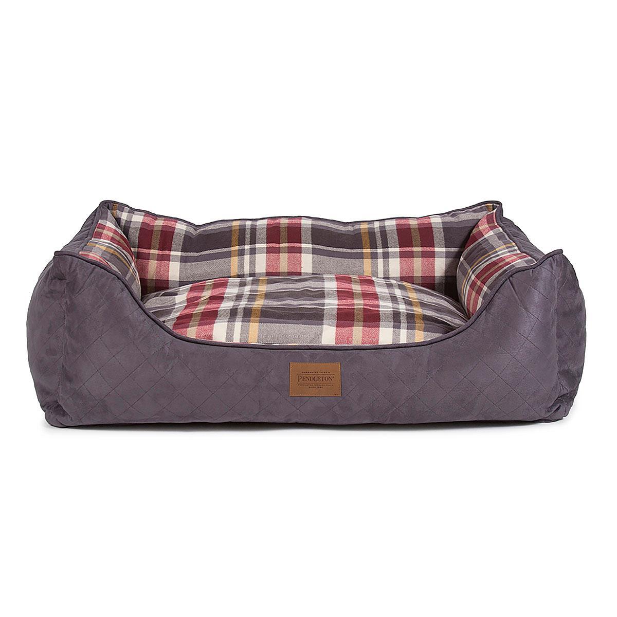 Pendleton® Pet Breslin Plaid Kuddler Dog Bed