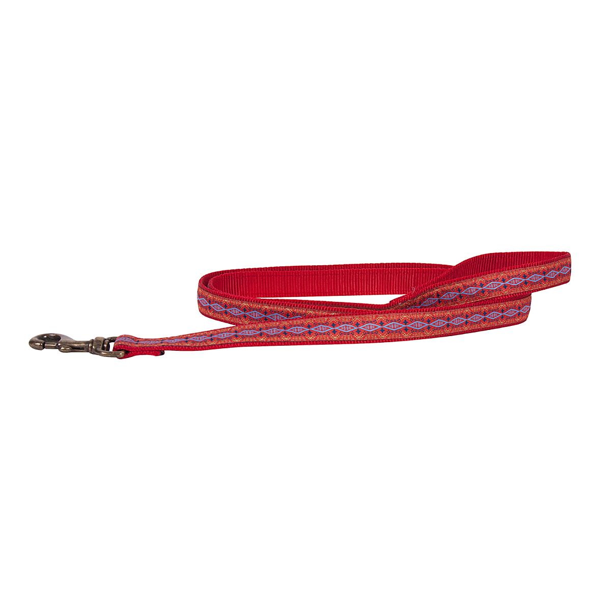 Pendleton Pet Diamond River Dog Leash - Scarlet