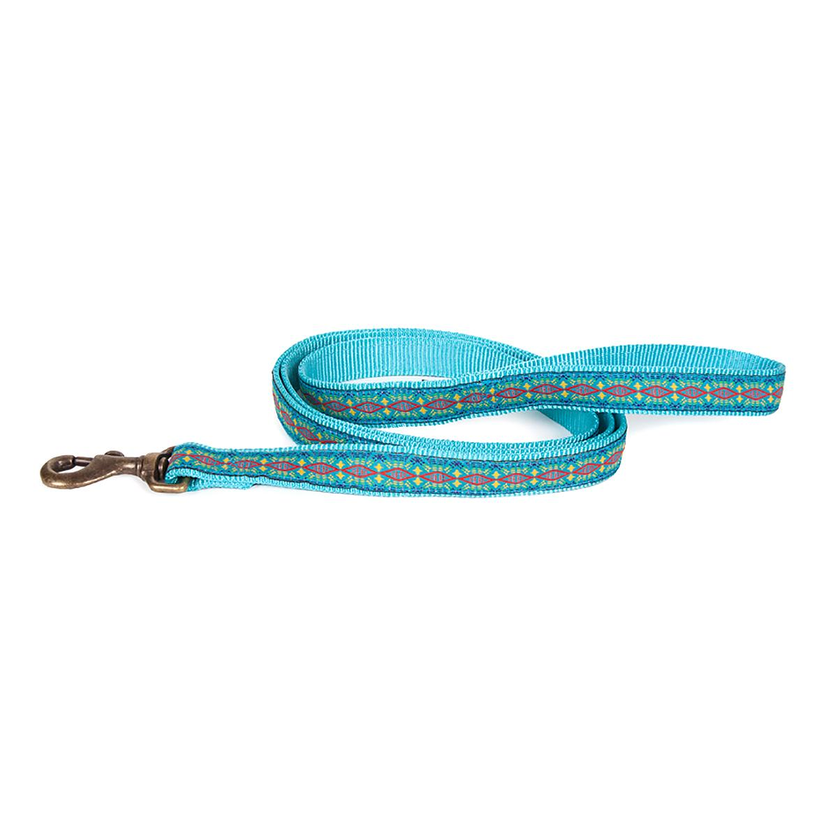 Pendleton Pet Diamond River Dog Leash - Turquoise