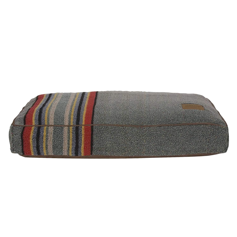 Pendleton Yakima Camp Berber Dog Bed - Heather Green
