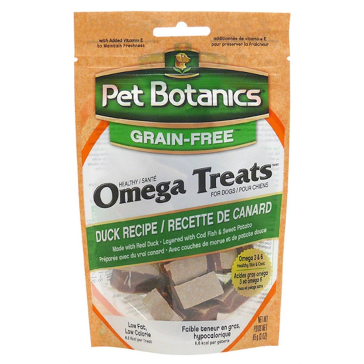 Pet Botanics Healthy Omega Dog Treats - Duck