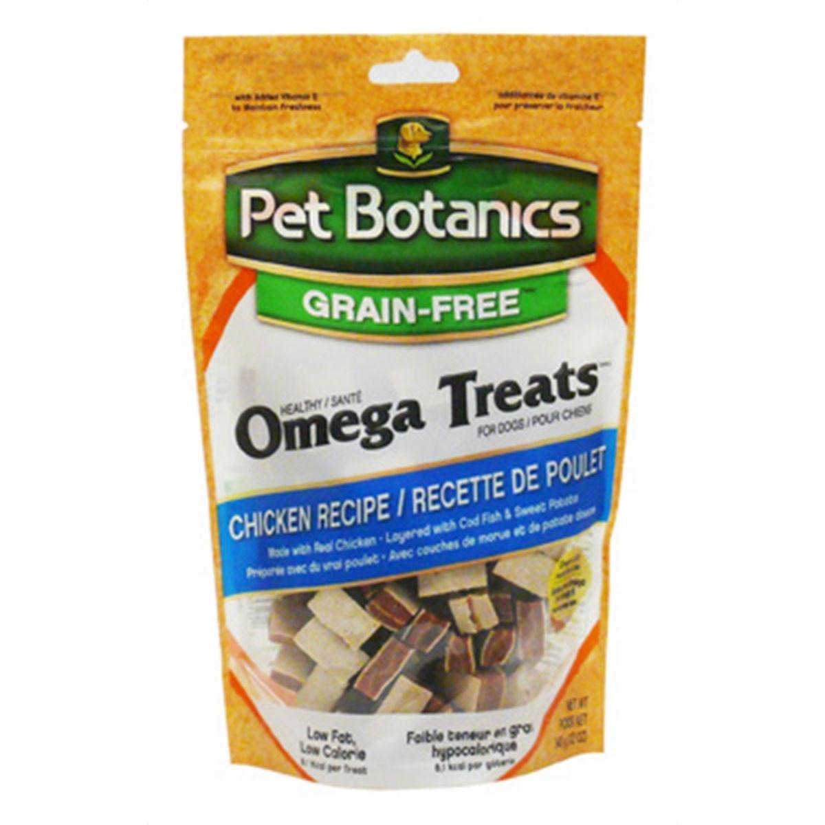 Pet Botanics Healthy Omega Dog Treats - Chicken