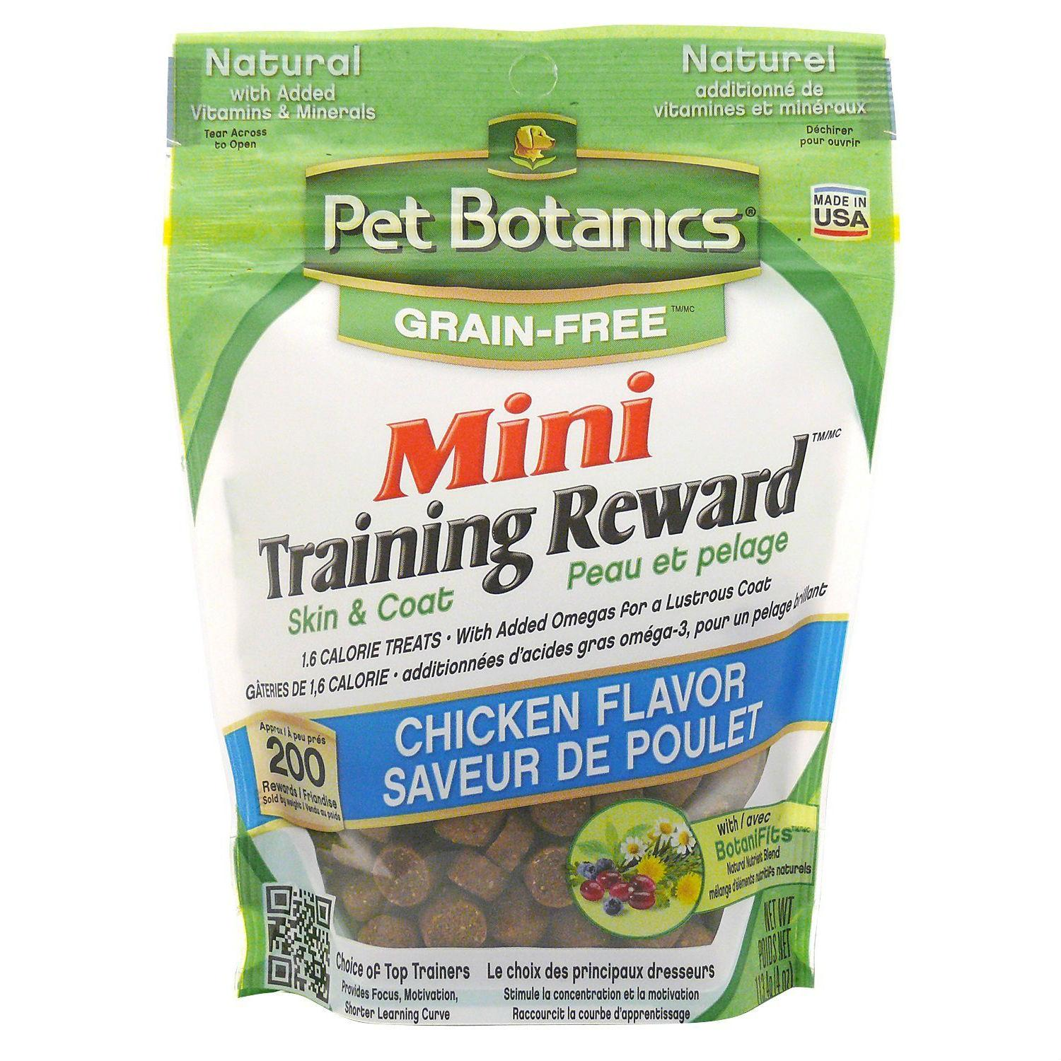 Pet Botanics Mini Training Rewards Grain-Free Dog Treats - Chicken