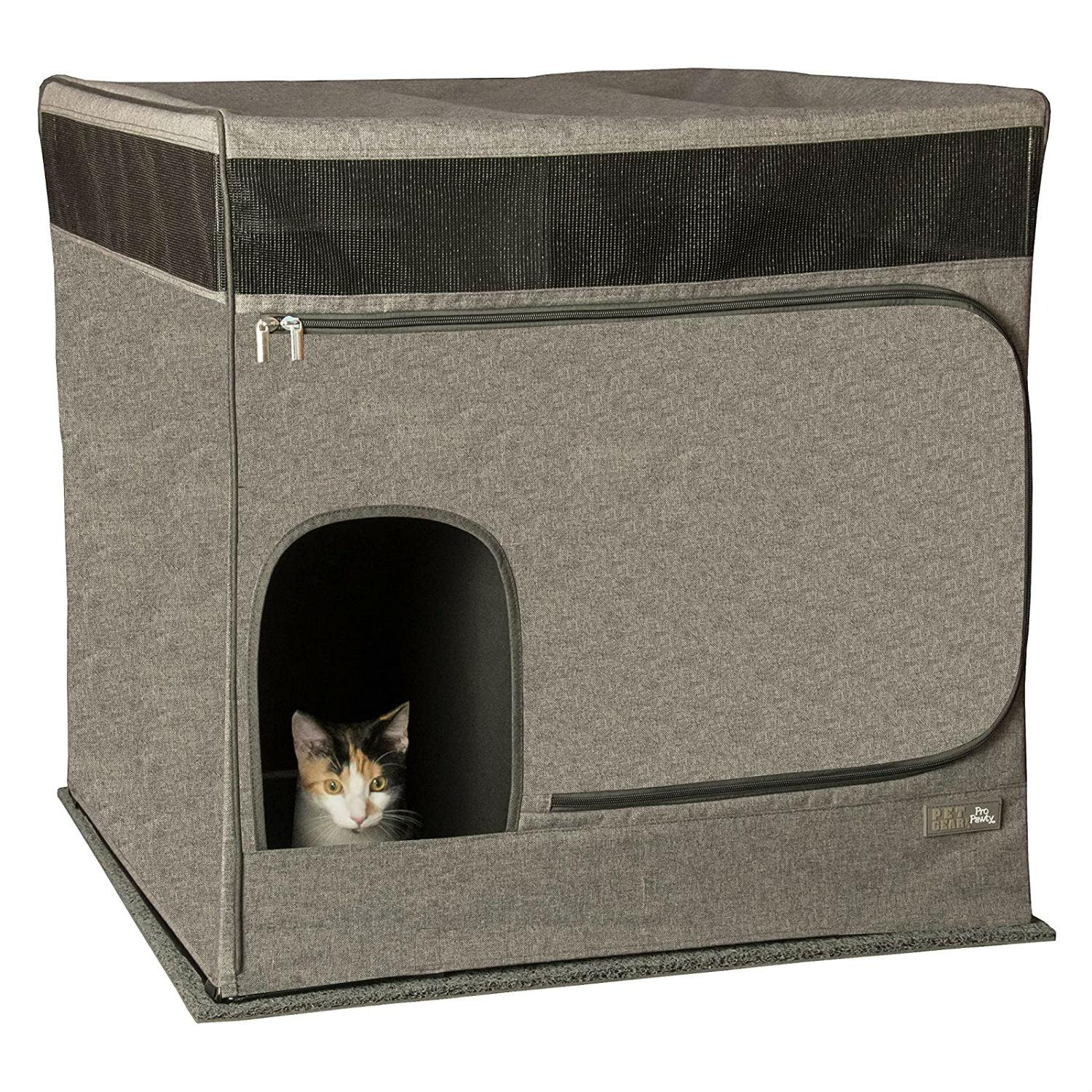 Pet Gear Pro Pawty for Cats - Soft Charcoal
