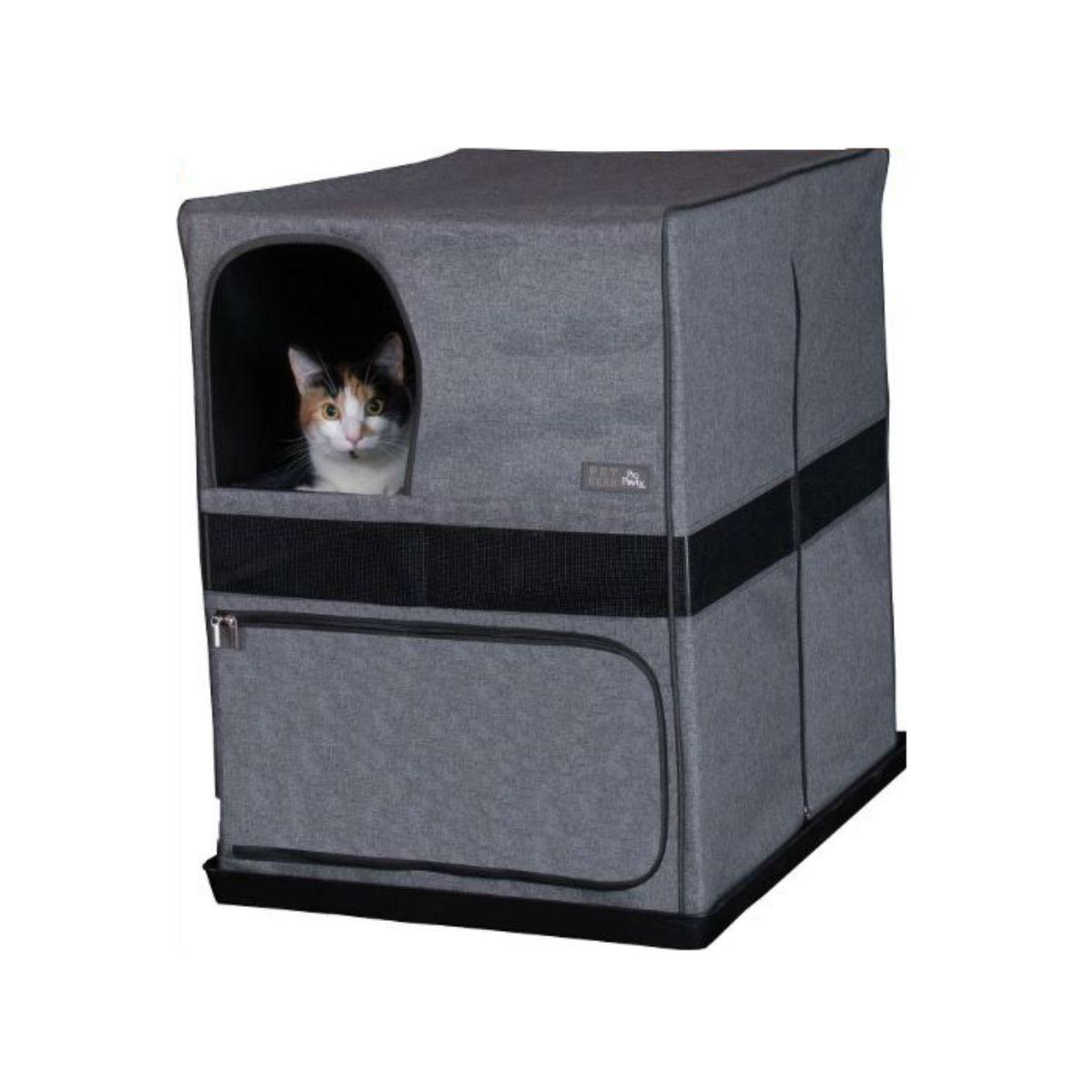 Pet Gear Pro Pawty for Cats Space Saver - Soft Charcoal