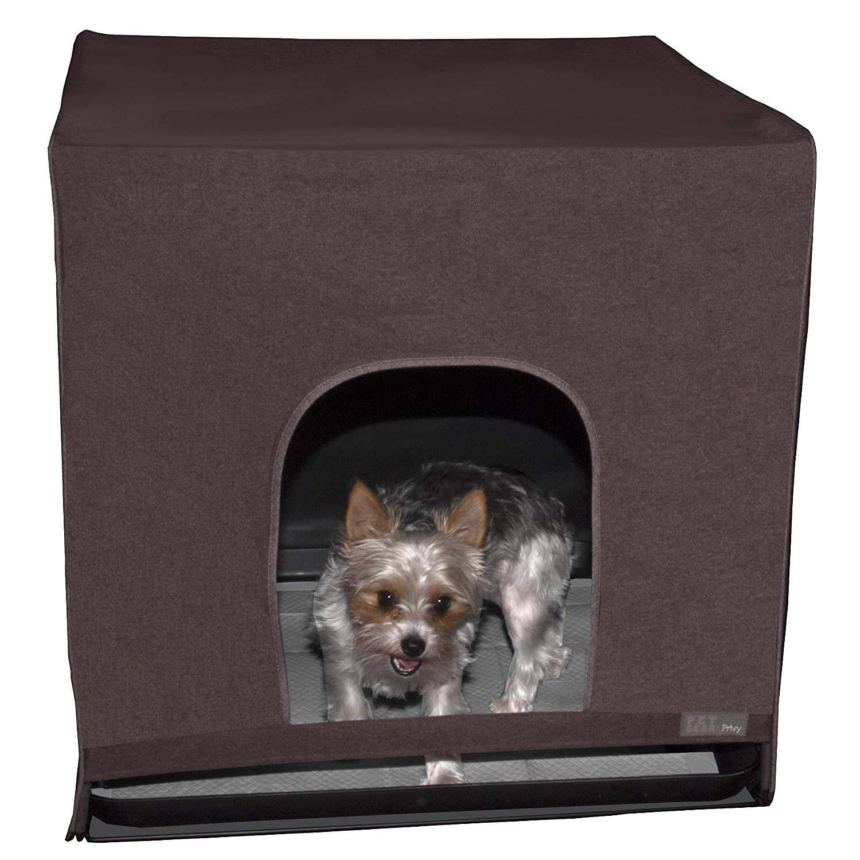 Pet Gear Pro Pawty Indoor Dog Potty - Espresso