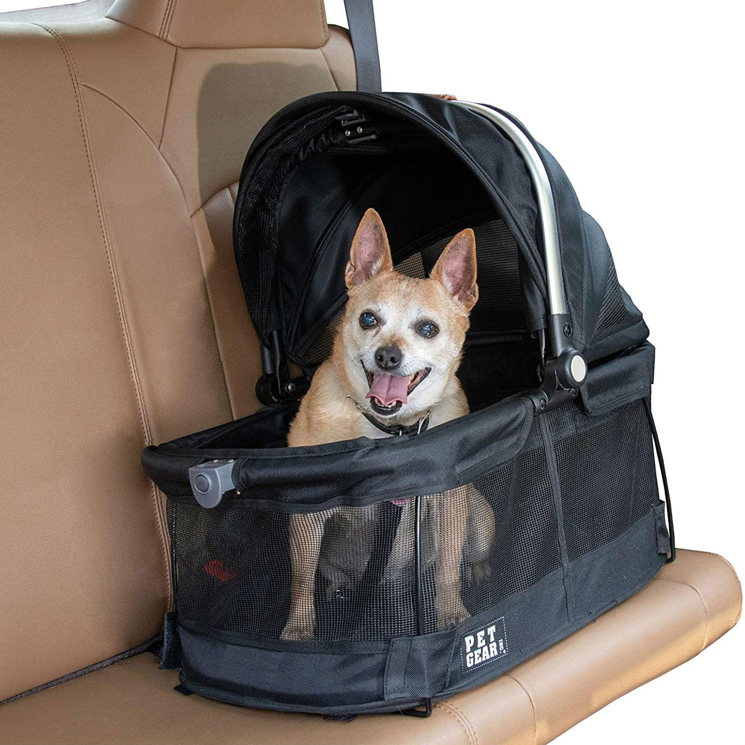 Pet Gear View 360 Dog and Cat Carrier - Black