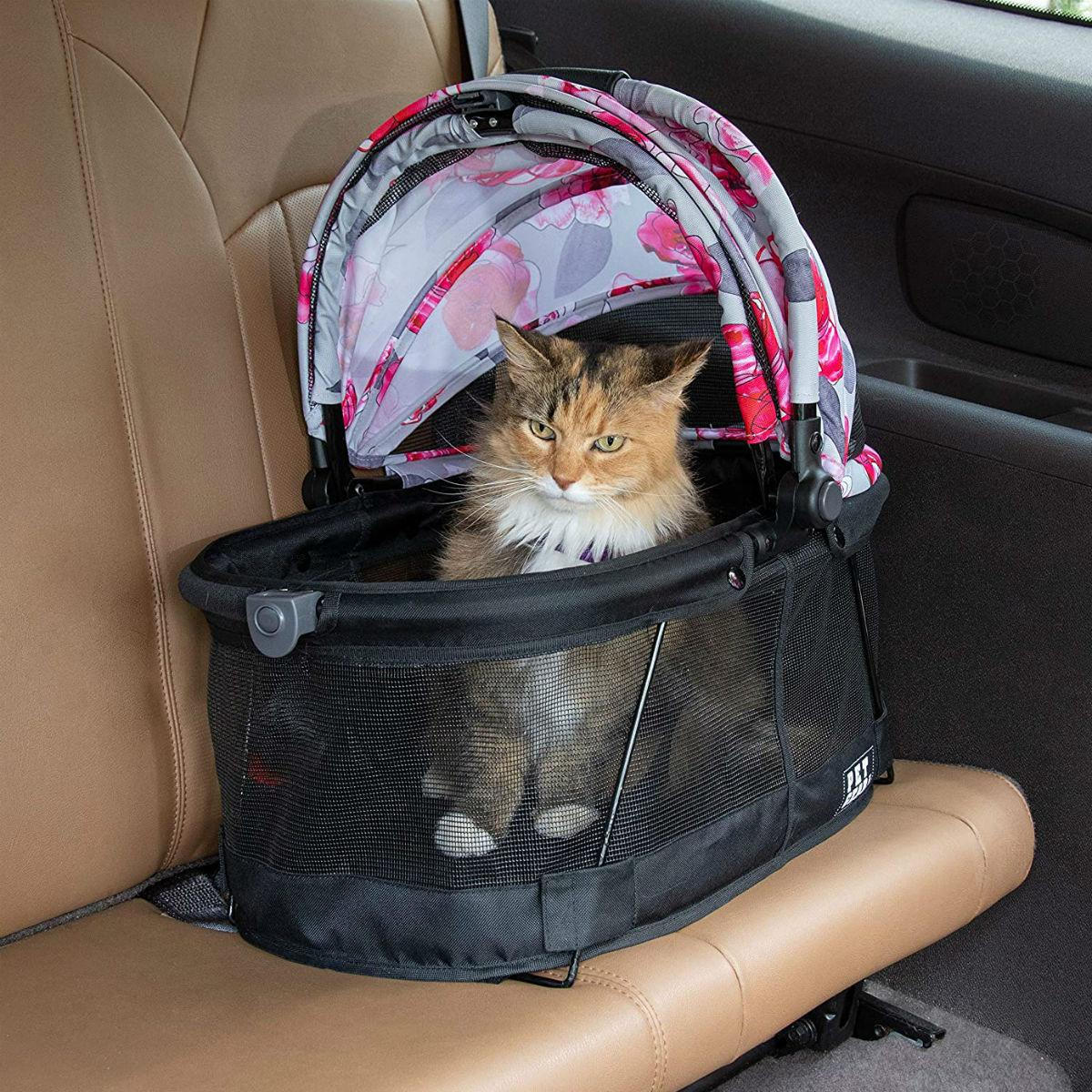 Pet Gear View 360 Dog and Cat Carrier - Floral