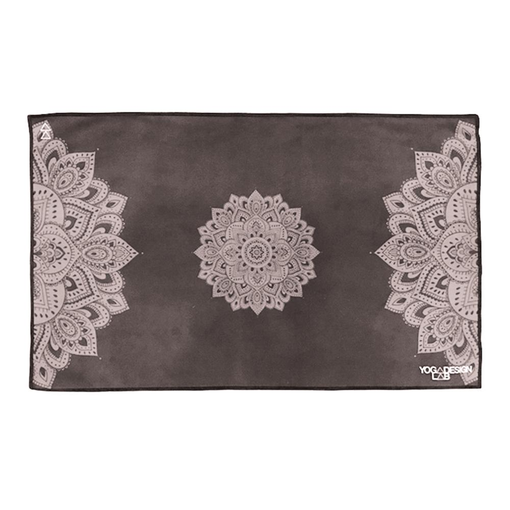 PET Hand Towel - Mandala Black