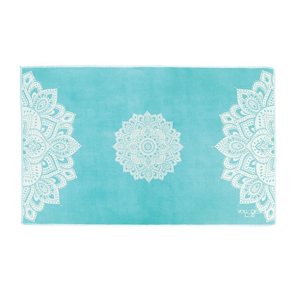 PET Hand Towel - Mandala Turquoise